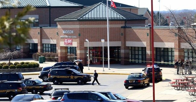 Young suspect in Ohio school shooting denies charges