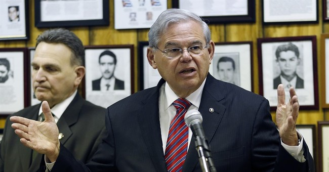 Lawyers for Sen. Menendez, government argue to appeals panel