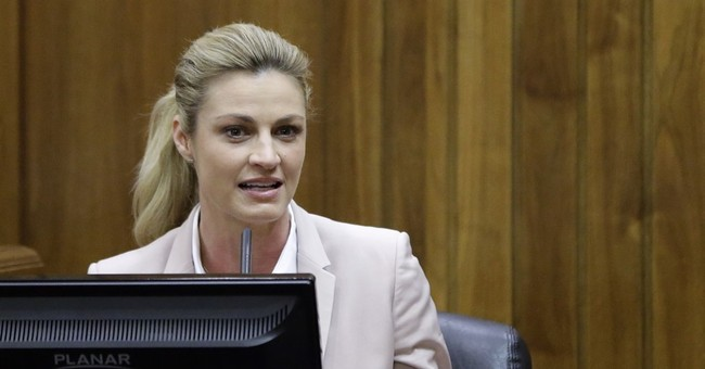 The Latest: TV host Erin Andrews says career has thrived
