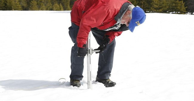 Dry spell ate away at snowpack of drought-ridden California