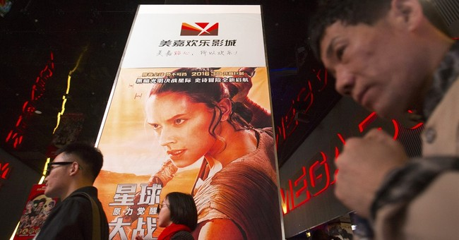 China's box office tally last month outpaced North America's