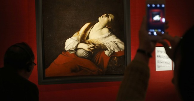 Long-lost Caravaggio painting makes public debut in Tokyo