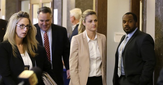 TV host Erin Andrews says she'll never get over nude videos