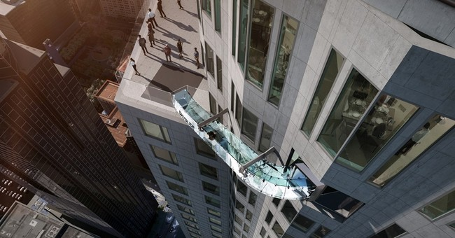 Ride the sky on a 70-story glass slide coming to Los Angeles