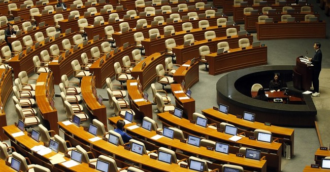 South Korean lawmakers end filibuster over anti-terror bill