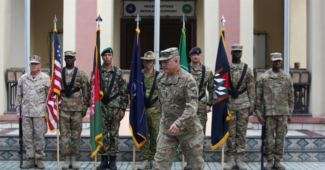 Change in command of US-NATO forces in Afghanistan