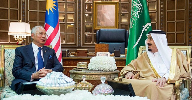 After corruption reports, Malaysian PM visits Saudi Arabia