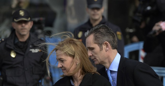 Spain: Princess' husband links palace aides to fraud case