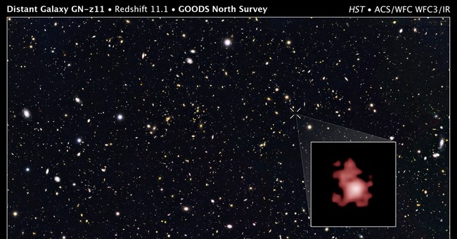 Astronomers spot record distant galaxy from early cosmos