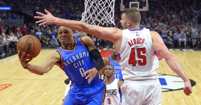 Clippers rally from 22 down to beat Thunder 103-98