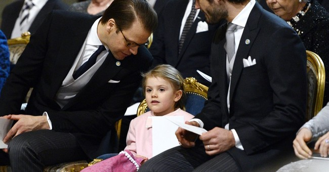 Swedish Crown Princess Victoria's son named Oscar
