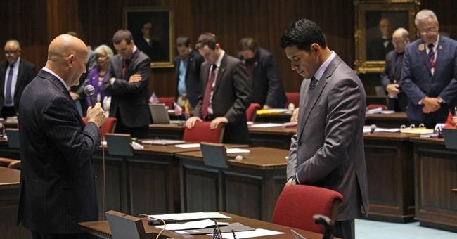 Atheist lawmaker's prayer sets off Arizona House dispute
