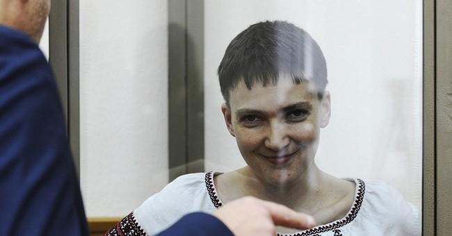 Ukrainian pilot on trial in Russia goes on hunger strike