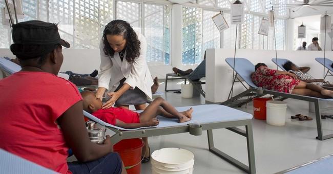 Cholera quietly still kills dozens a month in Haiti