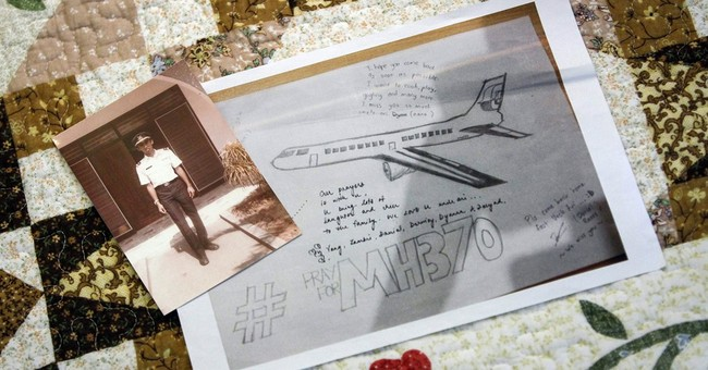 AP interview: man finds possible Malaysian plane debris