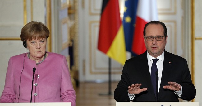 Germany, France push for joint EU solution to migrant crisis