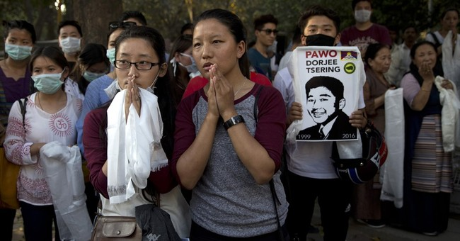 Tibetan in India immolates in protest against Chinese rule