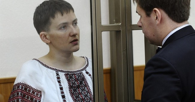Ukrainian pilot on trial pledges to keep up hunger strike