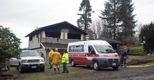Washington house fire kills 3 children of state lobbyist