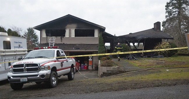 Washington house fire kills 3 children of state lobbyist