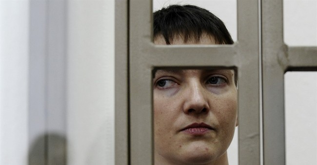 Ukrainian pilot on trial pledges to keep up hunger strike