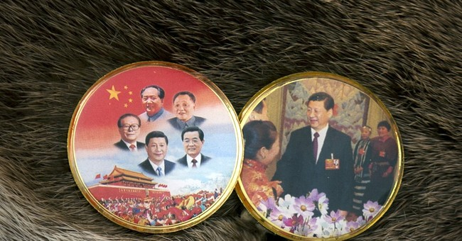 Tibetan delegates to China congress wear loyalty pins