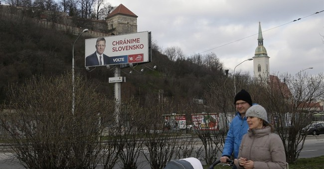 Ruling  leftist party heading for win in Slovakia election