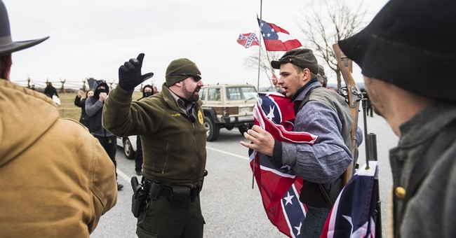 Rallies for, against Confederate flag duel at Gettysburg