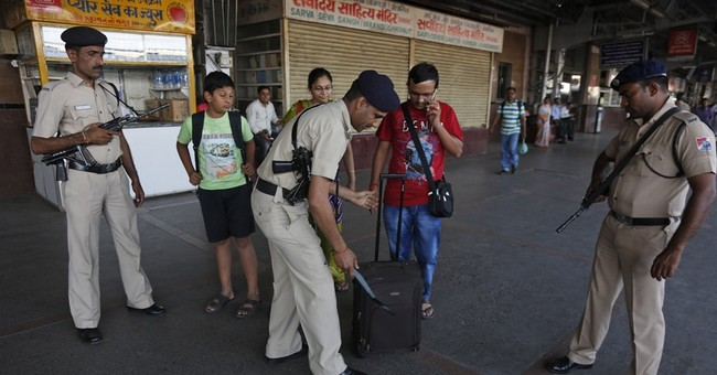 West India state on alert amid reports of militants entering