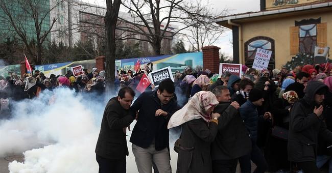 Seized Turkish newspaper adopts pro-government line