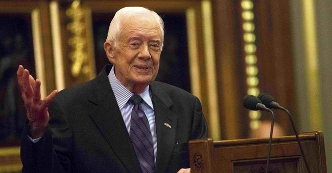 Jimmy Carter says he no longer needs cancer drug treatment