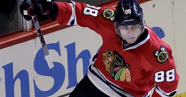 Kane, Blackhawks beat Red Wings 4-1