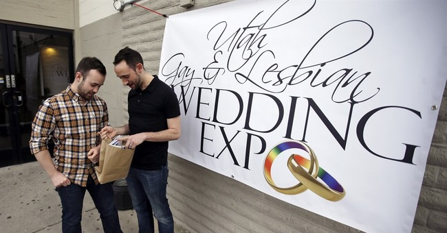 Utah gay wedding expo connects couples, friendly businesses