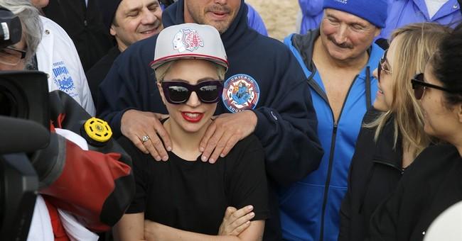 Lady Gaga and Al Roker take Polar Plunge in Chicago