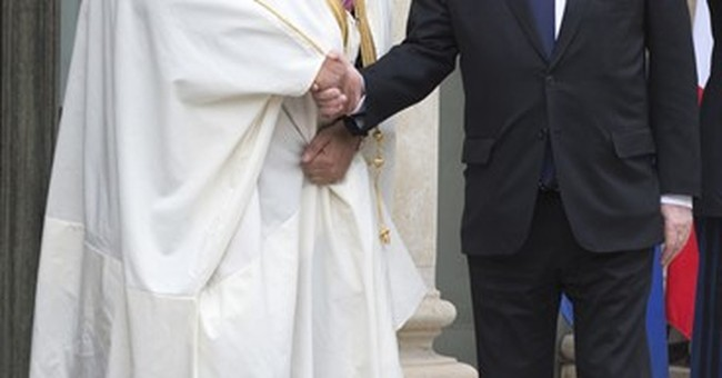 Saudi crown prince said to receive France's top honor