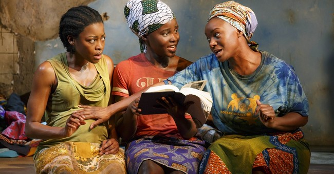 Review: Lupita Nyong'o soars in searing play 'Eclipsed'