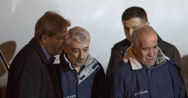 2 Italians freed in Libya provide testimony to prosecutors