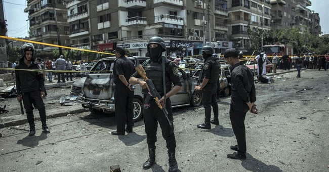 The Latest: Hamas denies role in killing of Egypt prosecutor