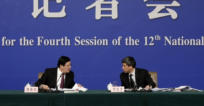 Chinese finance minister: Deficit widening to support growth