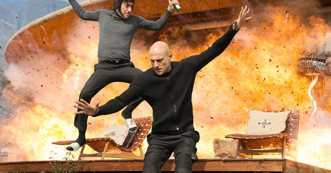 Review: Baron Cohen's 'Brothers Grimsby' is truly shameless