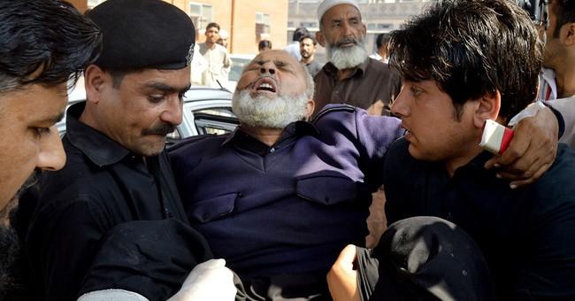 Taliban suicide bomber kills 11 outside Pakistani court