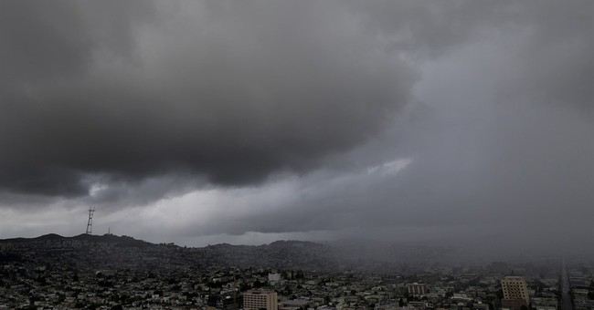 Powerful thunderstorms rage throughout California