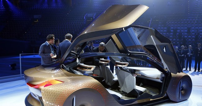BMW shows off concept car for the self-driving future