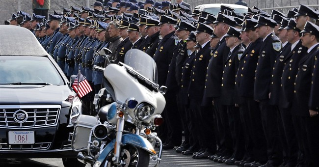 Hundreds of cops pay respects to officer killed her 1st day