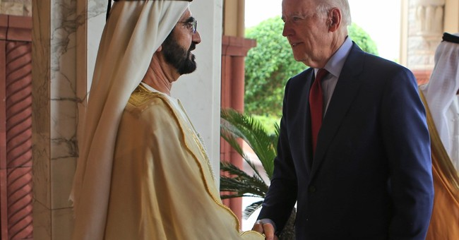 Before Arab audience, Biden talks about 'nasty' US campaign