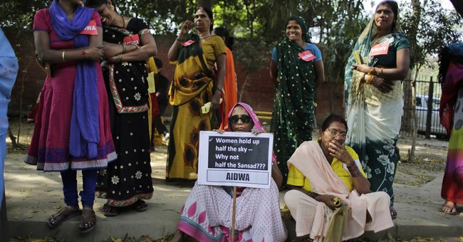 Nod to India's female lawmakers highlights how few there are