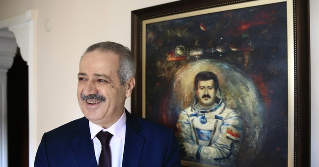 AP Interview: Syrian cosmonaut: Europe must help oust Assad