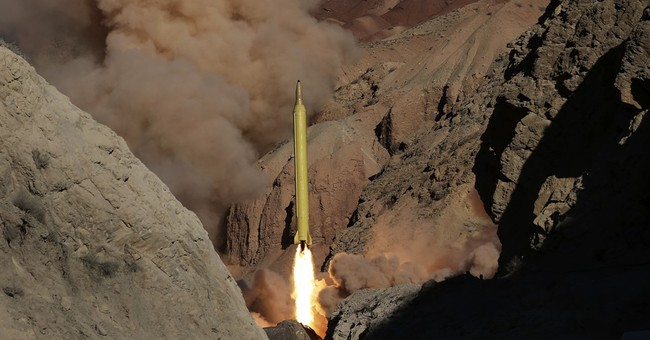 Iran fires 2 missiles marked with 'Israel must be wiped out'