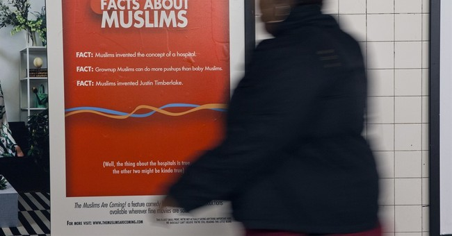 Humorous Muslim film ads go up in NYC subway stations
