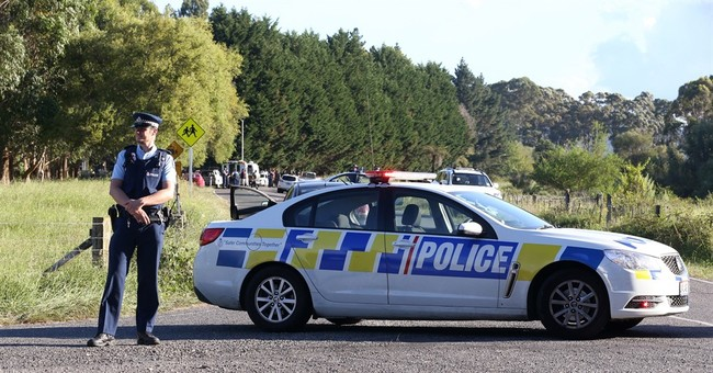 New Zealand suspect surrenders after 4 officers wounded